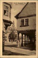 Arnstadt Thüringen AK 1929 Partie Blick von der Kirchgasse Gasse Stadt Straße