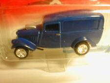 2002 Johnny Lightning Woodys & Panels 1933 WILLYS PANEL VAN blue