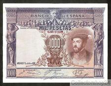 Spain 1000 Pesetas 1925 Pr / Xf  pn 70c