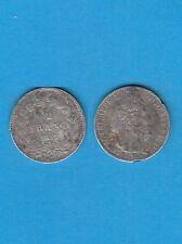 Gertbrolen Demi Franc Argent Louis-Philippe 1832 Strasbourg    Silver coin