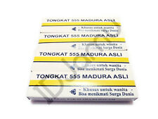 4 Boxes Natural Jamu Madura Stick 555 For Tighten Vagina & Enhance Sexual Drive