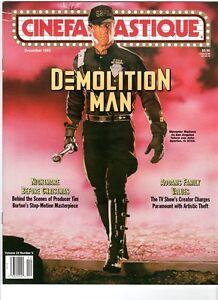 WoW! Cinefantastique V24#5 Demolition Man! Nightmare Before Xmas! Addams Family