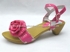 #TheBestSeller 50% OFF+FREE BAG! DISNEY PRINCESS FUCHSIA SANDALS SHOES 35/8-10