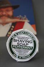 Dr. K. Soap Shaving Soap Pfefferminz Rasierseife 70 g