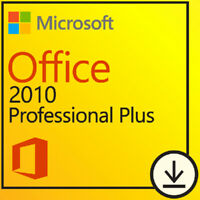 Office 2010 Professional Plus Product Key 🔐 Genuine Activation License