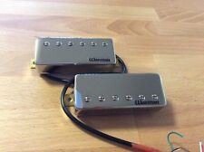 Warman FireBucker II  - Pair of chrome plated adjustable mini humbuckers