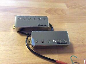 Warman FireBucker II  - Pair of chrome plated adjustable mini humbuckers