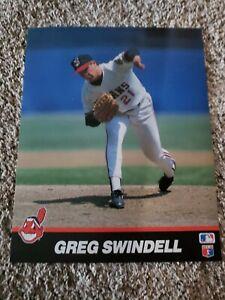 MLB Greg Swindell Cleveland Indians 8x10 Photo