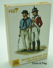 HaT 8325 British Marines & Fighting Sailors. 1/72 Scale. Napoleonic Era.