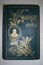 WAVERLEY NOVELS Walter Scott. VOL. 2 Ivanhoe, Heart of Midlothian, Old Mortality