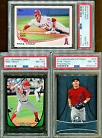 Absolute Mystery Pack Relic Auto Baseball Cards Mike Trout Rookie Edition