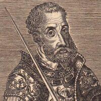 Portrait XVIIe Charles Quint De Habsbourg Empereur Saint Empire Roi d' Espagne