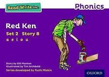 Read Write Inc. Phonics Purple Set 2 Storybook 8 Red Ken, Paperback, Reading