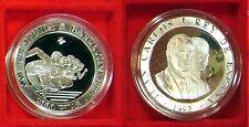 1992 Spain Large  silver Proof 2000 Pesetas- Olympics Runners