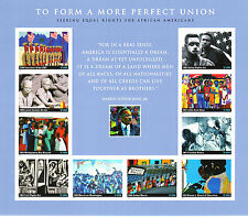 TO FORM A MORE PERFECT UINION STAMP SHEET -- USA 3937 37 CENT 2004 10 STAMPS