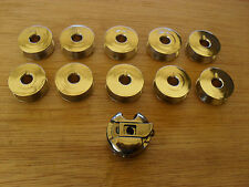 10X STEEL BOBBINS 1X BOBBIN CASE TO SUIT INDUSTRIAL STRAIGHT SEWERS
