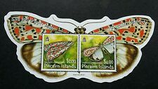 Pitcairn Islands Moth 2007 Butterfly Insect (miniature sheet) MNH *odd *unusual