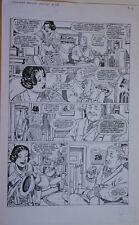 GUY DAVIS original art, SANDMAN MYSTERY THEATRE #28, pg 6, 12x19, 1995