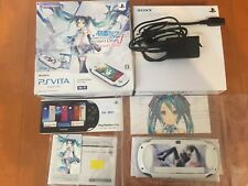Hatsune Miku Limited Edition JAPAN PlayStation Vita Wi‐Fi model game Console F/S