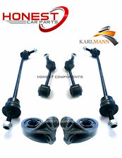 For ROVER 75, MG ZT, SALOON, ESTATE FRONT WISHBONE BUSHS & REAR LINK BARS X2