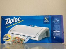 Ziploc Vacuum Sealer System V203. Food Meat sealer Storage. MSRP $50