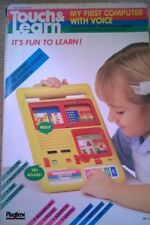 Vintage Touch and Go My First Computer 1209 Boxed Toy Kids Playtime