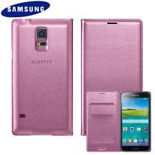 Samsung Galaxy S5 PINK Flip Case GENUINE & ORIGINAL EF-WG900BPEG NEW 24Hr Post