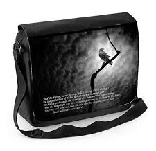 The Raven Edgar Allan Poe Laptop Messenger Bag - Goth