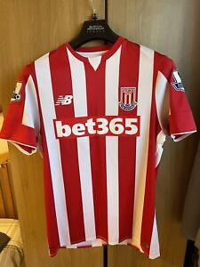 New Balance 2015/16 Stoke City Home Shirt Size Medium