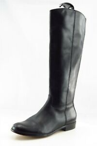 Corso Como Boot Sz 6 M Long Almond Toe Black Leather Women