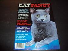 Cat Fancy July 1988 Blue Cats Chartreux, Korat, Russian and British Blu Id:47723
