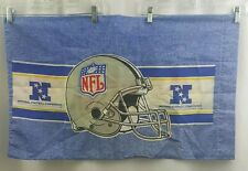 NFL Pillowcase Replacement Standard Pillow Case AFC NFC 1995 USA Made18x29""
