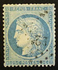 Timbre FRANCE / FRENCH Stamp - Yvert et Tellier n°37 obl (Cyn22)