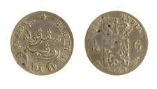 s1170_298) NETHERLANDS INDIES - INDIE OLANDESI 1/10 GULDEN  AG 1858