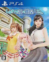 Shiawase Shou no Kanrinin-san /Happy Manager - PS4 [+DLC] F/S w/Tracking# Japan
