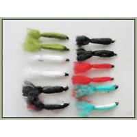 Baby Doll Trout Fishing Flies, 12 Pack, 6 Colours, Size 10, For Fly Fishing