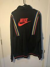 Nike NSW French Terry Heritage Re-issue Jacket AR1867-010 Men's XLT Extra Large
