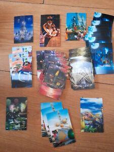 Job Lot Of Disney McDonald's 3D Cards