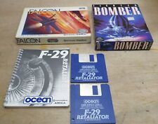 Falcon Fighter Bomber F29 Retaliator Flight Amiga Disc Disk Games Free UK P+P