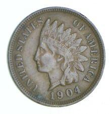 XF+ 1904 Indian Head Cent - Razor Sharp *872