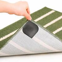 Bundaloo Anti Slip Pads For Rugs, Carpets, Bathroom Or Door Mats Washable - 4 PK