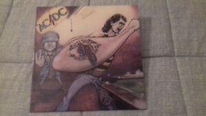 LP VINYL - AC/DC - DIRTY DEEDS DONE DIRT CHEAP - ALBERT BROWN PRESSING -