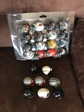 MINI NFL FOOTBALL HELMETS COLLECTIBLE COMPLETE SET OF ALL 32 TEAMS PLUS 8 EXTRA
