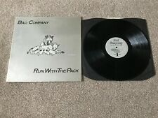 """New listing BAD COMPANY - RUN WITH THE PACK : VG+ UK 12"""" VINYL LP ILPS 9346 - PLAYS GREAT!!"""