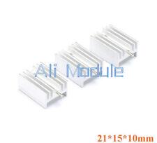 New 20PCS Heat Sink 21x15x10mm Aluminum Heat Sink TO-220 Transistors DIY