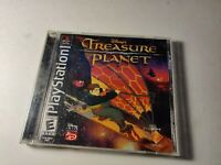 Disney's Treasure Planet PS1 (Sony PlayStation 1, 2002) tested & works