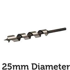 25mm X 235mm de largo de acero endurecido Barrena Drill Bit-SDS Shank/Eje De Carpintería Madera