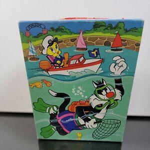 1983 Tweety & Sylvester Golden Puzzle 4503-31 Warner Bros 99 Pcs