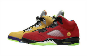 Nike Air Jordan 5 Retro What The Mens Size 8 CZ5725-700 Dead Stock OG Ships Free