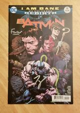 Batman rebirth issue 19 tom king signed with Coa and signed David finch
